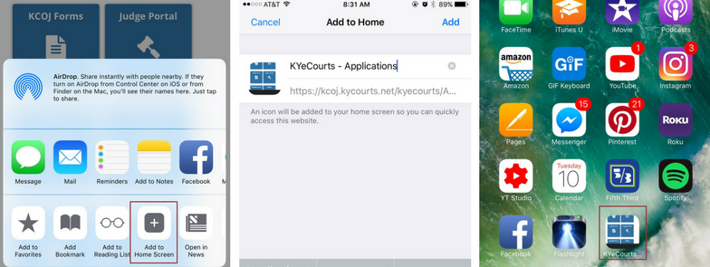 Shortcut Screenshot
