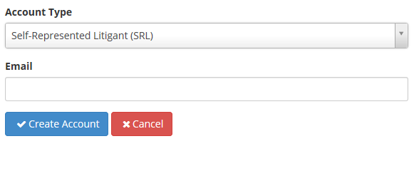 Account Type SRL Email